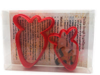 Carrot Cookie Cutter Set of 2