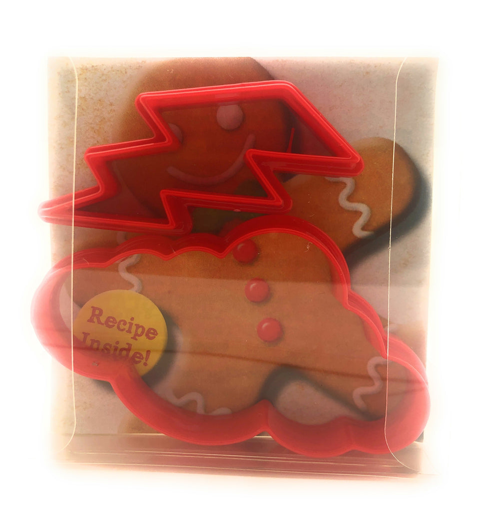 Lightning Cloud Cookie Cutter Set of 2
