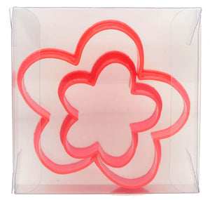 Flower Cookie Cutter Set of 2
