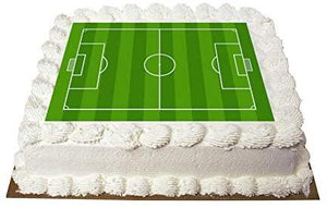 A4 Football Pitch Fondant Icing Sheet Cake Topper Edible Icing…