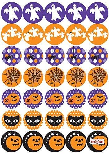 35 x Halloween Cupcake Toppers