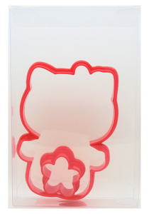 Hello Kitty + Flower Cookie Cutter