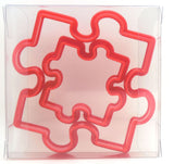 Jigsaw Cookie Cutter Set of 2