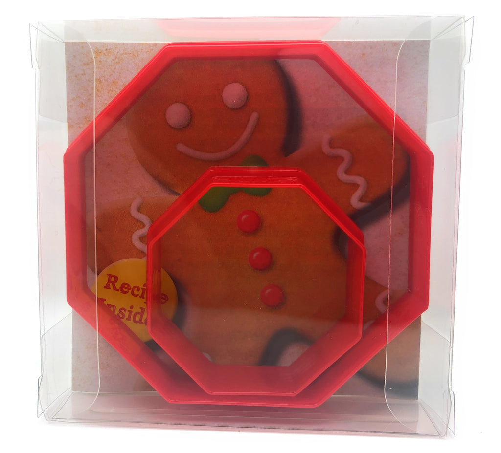 Octagon Cookie Cutter Set of 2