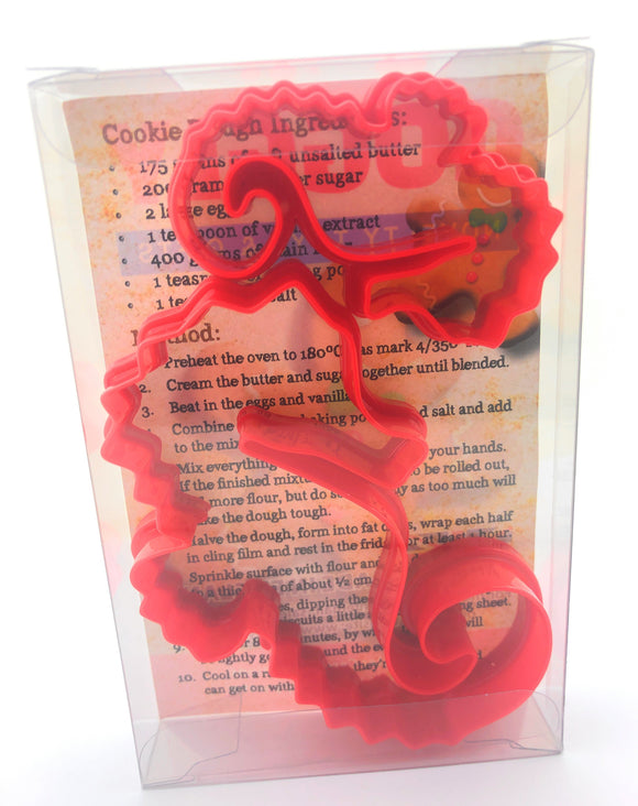 Seahorse Cookie Cutter Set of 2