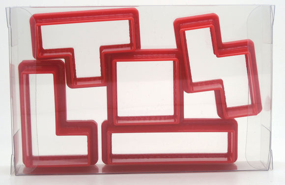 Tetris Cookie Cutter Set of 5