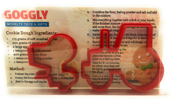 Tractor Cookie Cutter Set of 2