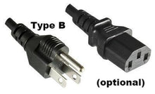 optional: Power cable for North America (Type B)