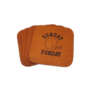 """Sunday Funday"" Coaster Set"