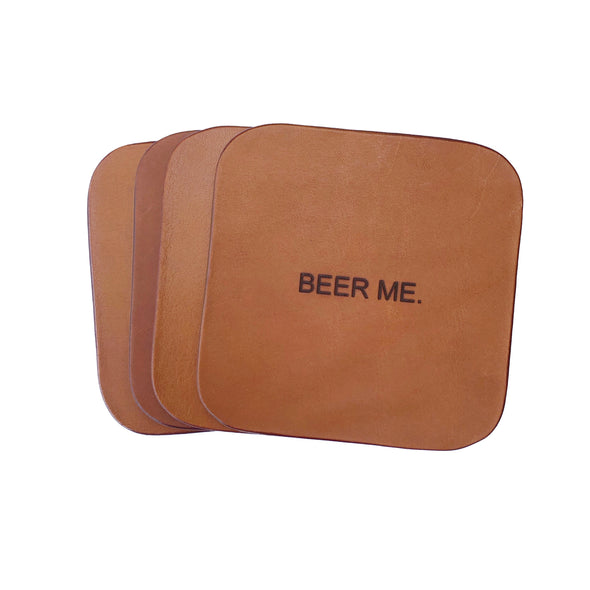 BEER ME. Coaster Set
