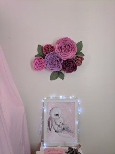 Roses 6 Piece Set - nursery decor