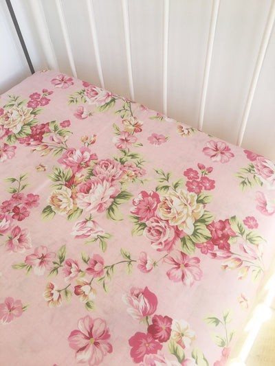 Couture Fitted Cot Sheet- Annabelle - nursery decor
