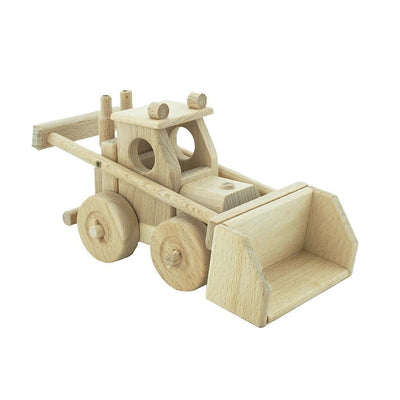 Wooden Bulldozer -Archie - nursery decor