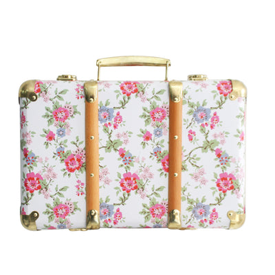 Alimrose Vintage Style Carry Case - Cottage Rose - nursery decor
