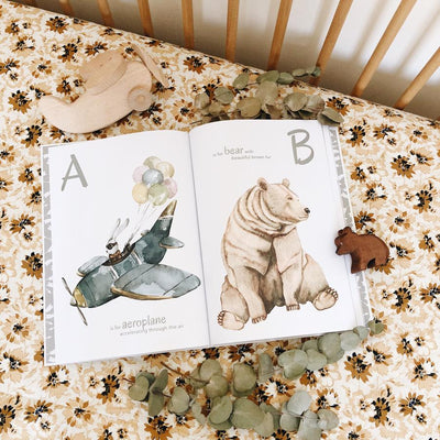 The Incredible ABC - nursery decor