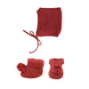 Olli Ella Dinkum Doll Knit Set- Plum