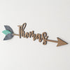 Custom Name Arrow - nursery decor