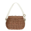 Mamachari Bag- Natural - nursery decor