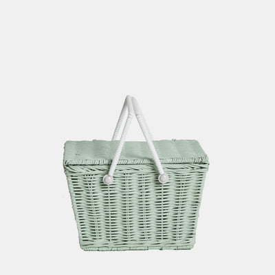 Piki Basket- Mint - nursery decor