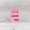 Fairy Mailbox - Pale Pink - nursery decor