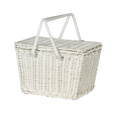 Olli Ella Piki Basket White - nursery decor