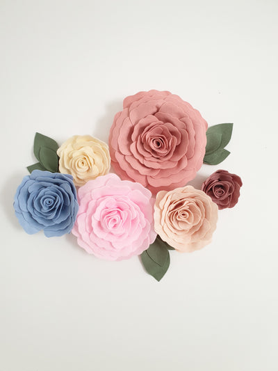 Roses- Individual - nursery decor