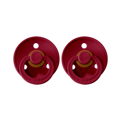 BIBS Dummies 2 Pack -Ruby