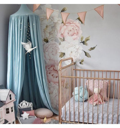 Numero 74 Canopy - Sweet Blue - nursery decor