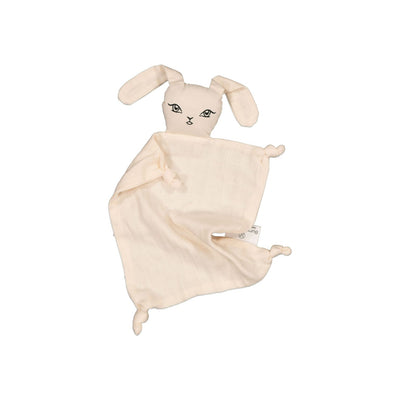 Burrow & Be Muslin Bunny Comforter- Almond - nursery decor