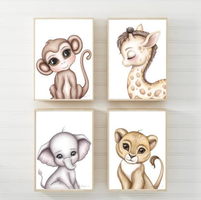 Isla Dream Prints Gerald the Giraffe Print - nursery decor