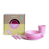Bobo&Boo Bamboo Dinnerware Set- Blossom - nursery decor