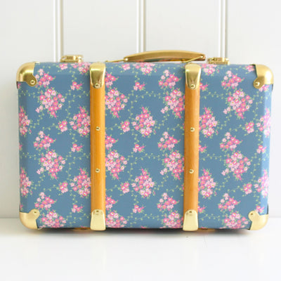 Alimrose Vintage Style Carry Case - Wildflower - nursery decor