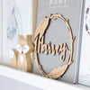 Name Wreath - Boho - nursery decor