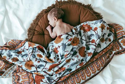 Buti Block Swaddle - nursery decor
