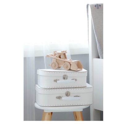 Alimrose Kids Carry Cases - White - nursery decor