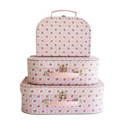 Alimrose Kids Carry Cases - Floral Medallion - nursery decor