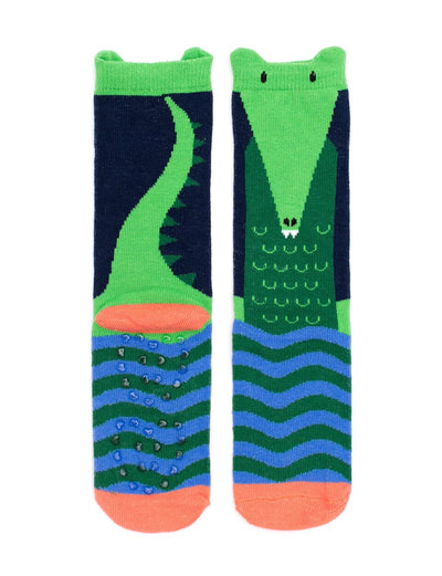 Billy Loves Audrey Croc Socks - nursery decor