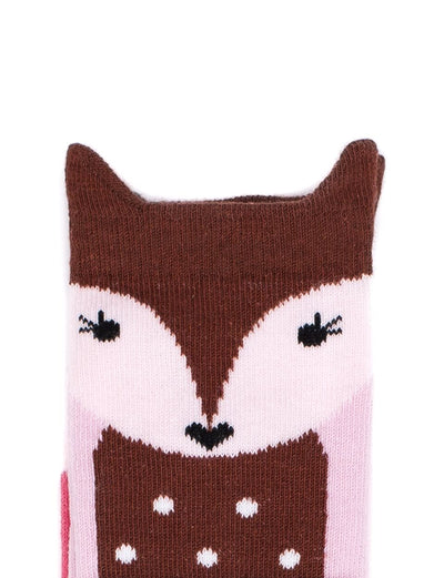 Billy Loves Audrey Doe Socks - nursery decor