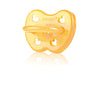 Hevea Natural Rubber Pacifier- Duck- Symmetrical Teat - nursery decor
