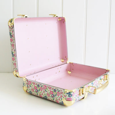 Alimrose Vintage Style Carry Case - Petit Floral - nursery decor