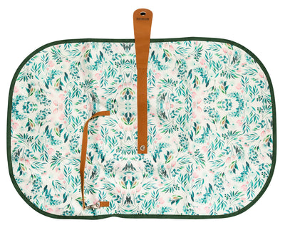 Travel Baby Change Mat- Garden Party