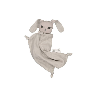 Burrow & Be Muslin Bunny Comforter- Grey - nursery decor