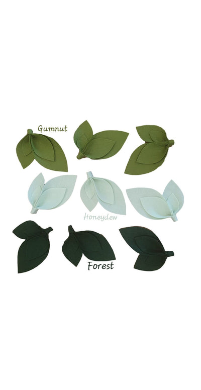 Leaf Packs - nursery decor