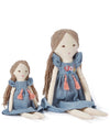 Nana Huchy Baby Lily Doll- Blue - nursery decor