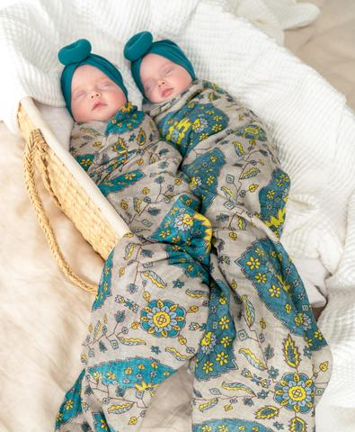 A Magic Carpet Swaddle