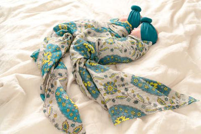 A Magic Carpet Swaddle - nursery decor