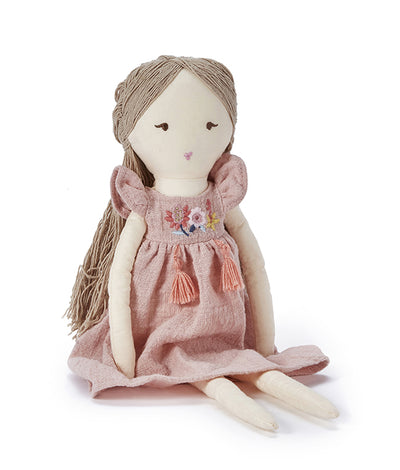 Nana Huchy Miss Daisy Doll- Pink - nursery decor