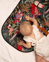 Travel Baby Change Mat- Bird Paradise - nursery decor
