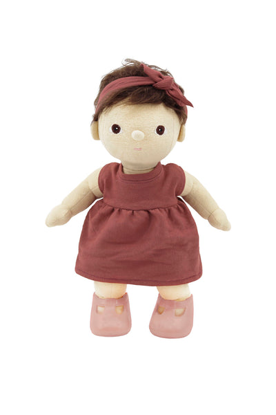 Dinkum Dolls Travel Togs- Rose - nursery decor