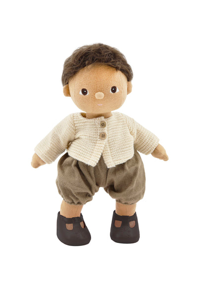Dinkum Dolls Travel Togs- Rust - nursery decor